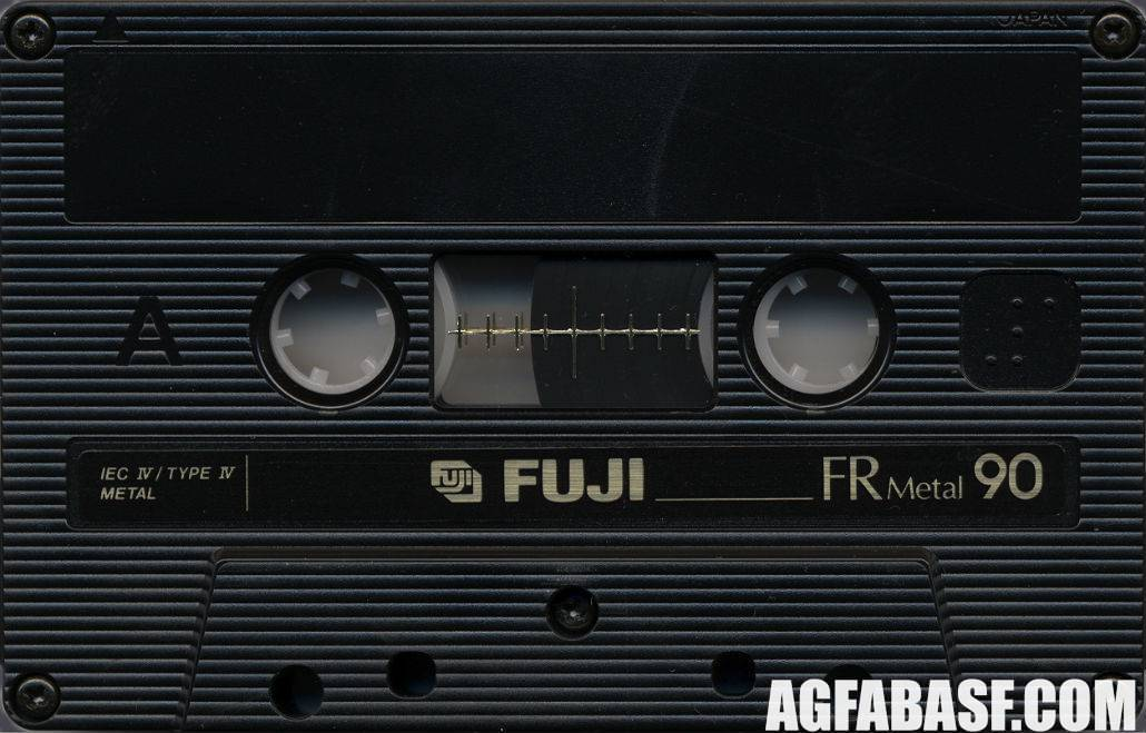 Кассеты Fuji 1989-90
